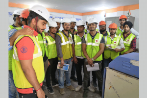 Students of B.Tech (Civil) visited RMC Readymix (India), Faridabad