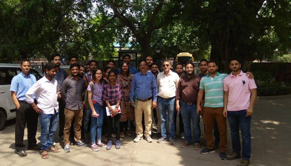 Students of Civil Engineering visited Railway Yard 1