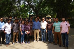 Students of Civil Engineering visited Railway Yard