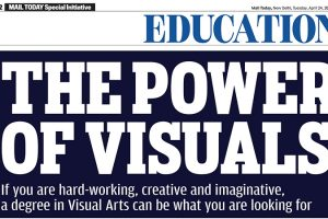 """""""What can you do with a Visual Arts Degree"""" – Mail Today – 24th April 2018"""