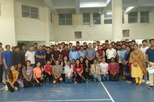 Badminton-Tournament