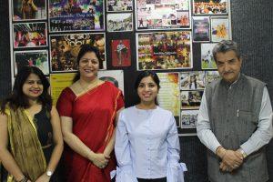BioTech Alumni visited Manav Rachna Campus 1