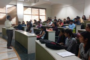 FCA conducted a session on 'MCA- Career Opportunities' for B.Com final year students