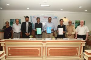 MCF, MRIIRS and NIUA sign a Tripartite Agreement in the area of Water, Sanitation and Hygiene (WASH)