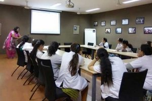 """Presentation on """"Library Digital Resources"""" for MDS first year students"""