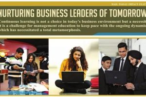 Nurturing Business Leaders of Tomorrow – Mail Today – 23rd May'18