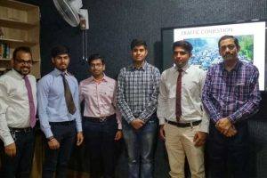 Project Presentations under Professional Communication Curriculum