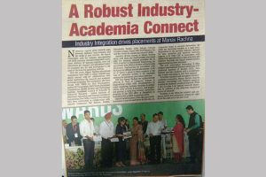A Robust industry-Academia Connect