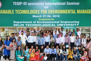 Students attended International Seminar on STEM-2018