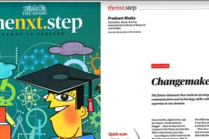 Changemaker – by Dr. Prashant Bhalla,Chancellor, MRIIRS