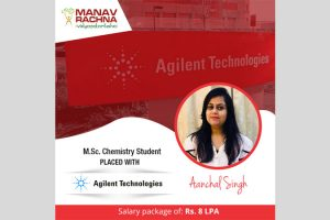 M.Sc. Chemistry Student placed with Agilent Technologies