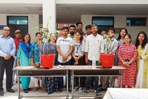Department of Mathematics organized Plantation Event on World Environment Day