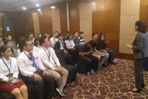 Bhutanese Students visited Crowne Plaza