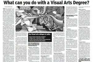 What can you do with a Visual Arts Degree? – Hans India