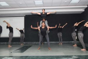 International Yoga Day Celebrated by DSW, MRIIRS