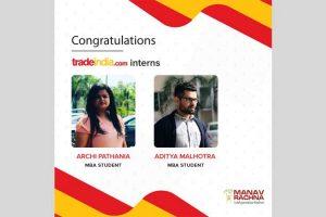 Internship at TradeIndia