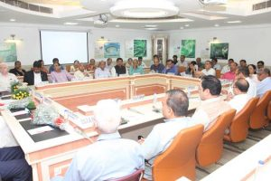 Meeting of Organizing Committee of All India Association of Vice Chancellors and Academicians