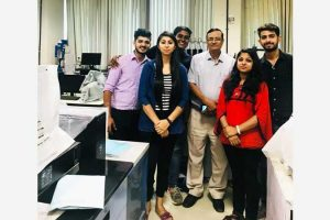 M.Sc. Chemistry students selected for Summer Training at NTPC