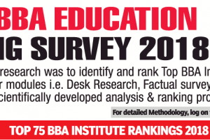 Times BBA Education Ranking Survey 2018 by TOI