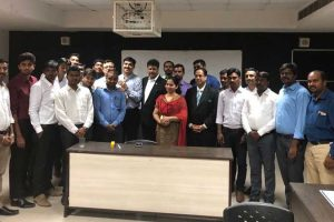 MDP on 'Sales and Negotiation' for participants from S-CCI India Pvt Limited