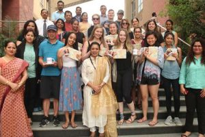 Canadian students visited MRU for 'Cultural Extravaganza'
