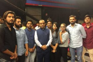 BJMC Students Visit to News18 India