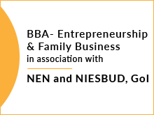 BBA - Entrepreneurship & family business