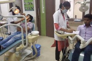 Dental Screening of BBA students at MRDC