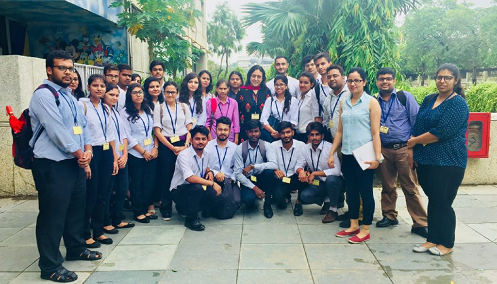First-year MBA students visited Shahi Export