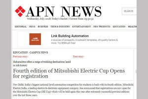 Print Coverage – Fourth edition of Mitsubishi Electric Cup Opens for registration