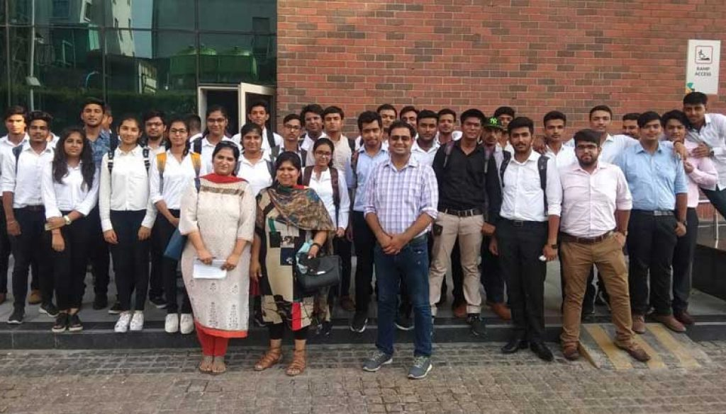 Industrial-Visit-to-TCS-NoidaF