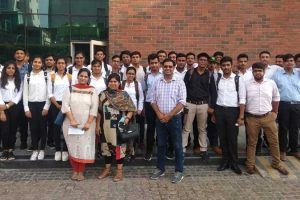 Industrial Visit to TCS Noida