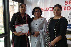 Ms. Manpreet awarded Active SPOC certificate for Local Chapter of NPTEL
