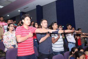 Manav Rachna welcomes its new members with zest!