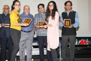 Research Excellence Award given to B.Tech. Students