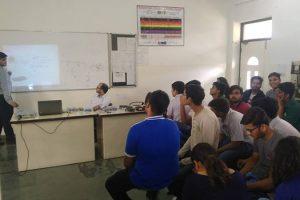 Seventh day of MRU Engineering Orientation program