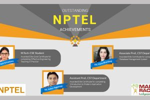 Students' Achievements of SWAYAM-NPTEL Local Chapter