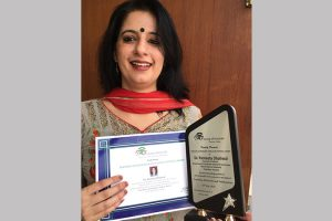 Teaching & Research Excellence National Award-2018