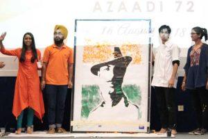 Celebrating 72 years of free will! Celebrating Independence: Azaadi 72 at Manav Rachna