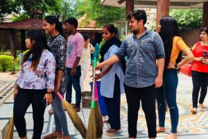 Cleanliness Drive Department of Business Studies