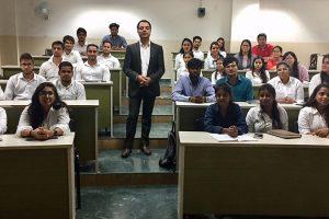 Goal Setting Workshop by Mr. Sandeep Nagpal for freshers
