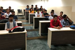 Guest Lecture by PNB Professional for BBA Students