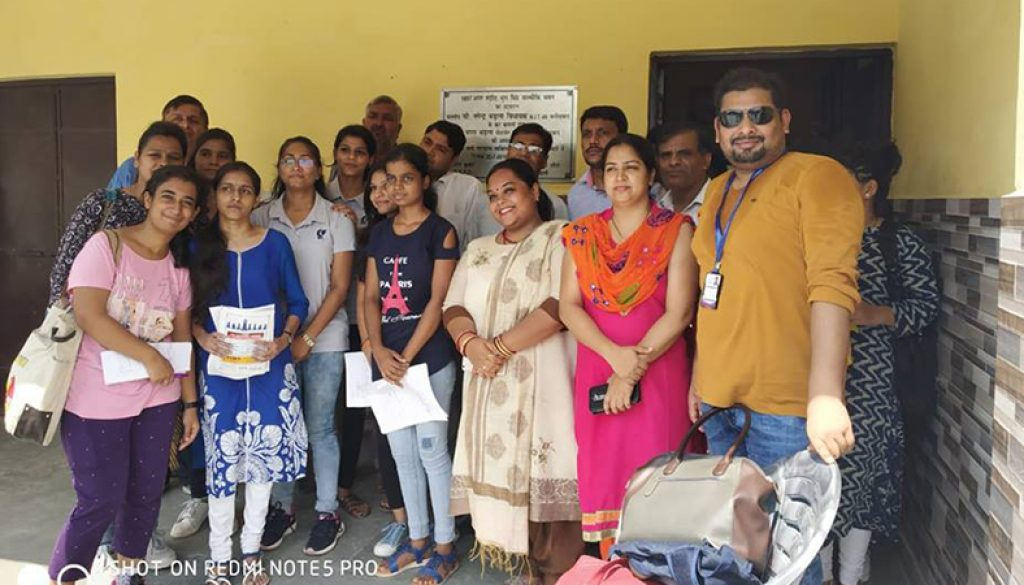 MRU Students visited villages with their Clans