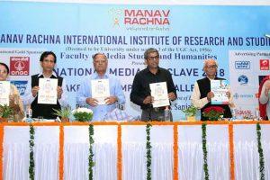 National Media Conclave organized by Manav Rachna