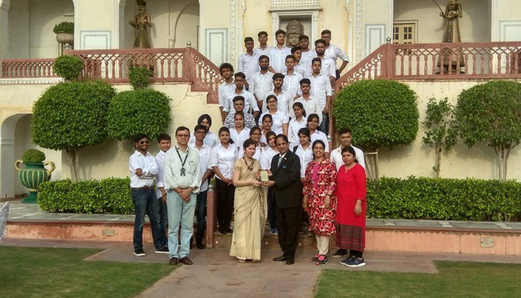 Visit to Raj Palace 1
