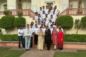 Visit to Raj Palace