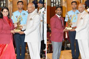 Press Release: Ankur and Shreyasi of Manav Rachna got Arjuna Award