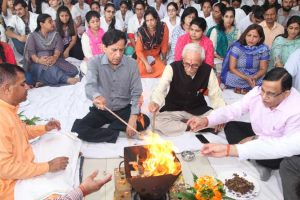 MRDC welcomes BDS freshers through Hawan Ceremony