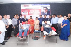 Mega Blood Donation Camp at Manav Rachna Campus