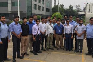 Industrial visit to JBM Group (N4 Plant), Gurugram